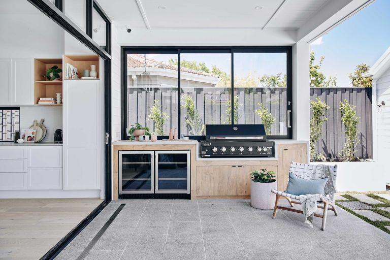 outdoor kitchen ideas: modern design by norsu interiors