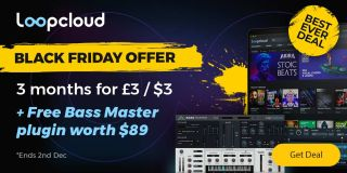 Get 3 months access to Loopcloud's entire sound library - plus a free plugin - for just £/$3 this Black Friday