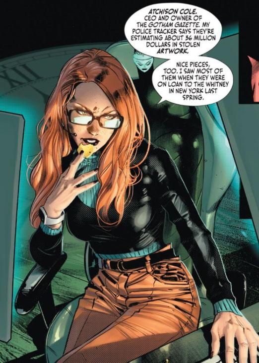 Arte de Batman # 106