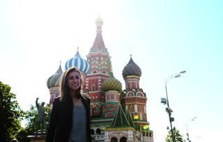 It looks like Anita Rani's drawn the short straw this week as she gets to see what it's like to commute in the Russian capital two ways – as a passenger on the heaving underground system and a driver making her way into the city on the most congested roads in Europe.