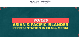 Event logo for Amazon Studios' voices event.