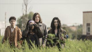 Cast members of The Walking Dead World Beyond