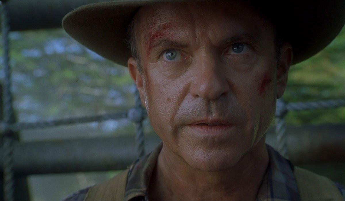 Sam Neill in Jurassic Park 3