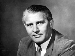 Wernher von Braun was a crucial player in the early days of the American spaceflight program.