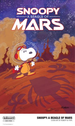 Snoopy Boldly Goes to Red Planet in 'A Beagle of Mars'