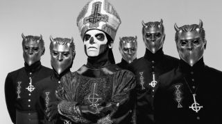 A promotional photo of Ghost