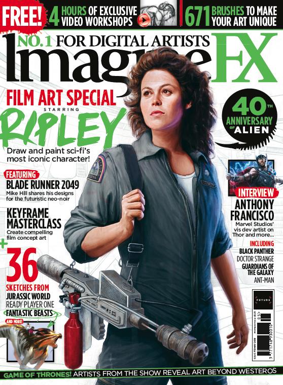 ImagineFX 173 issue resources | Creative Bloq