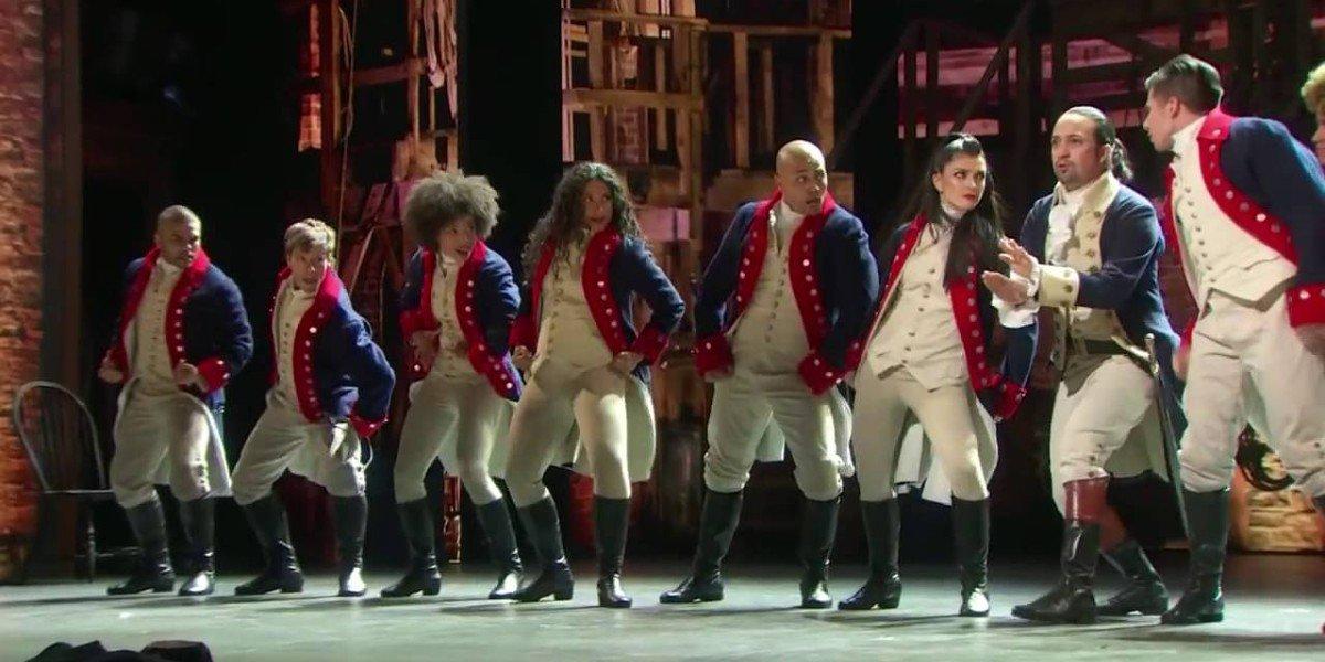 The Cast of Hamilton at the Tonys