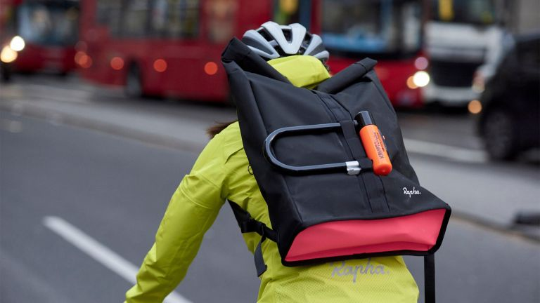 Rapha roll top backpack