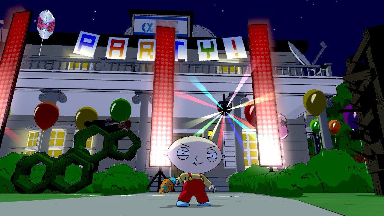 Family Guy: Back to the Multiverse Screenshots Shoot Up Quahog #22916