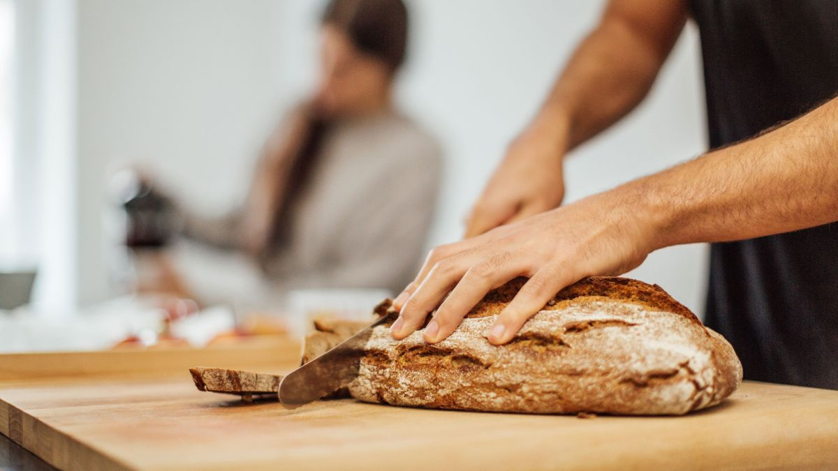 Making bread is the perfect weekend activity