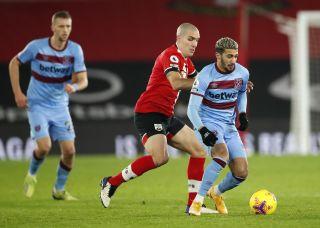 Southampton v West Ham United – Premier League – St Mary's Stadium