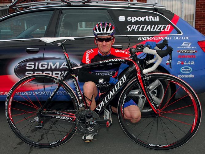 Matt Stephens' Specialized Tarmac SL2