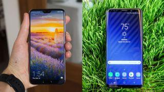 Huawei P20 Pro vs Samsung Galaxy S9 Plus | TechRadar