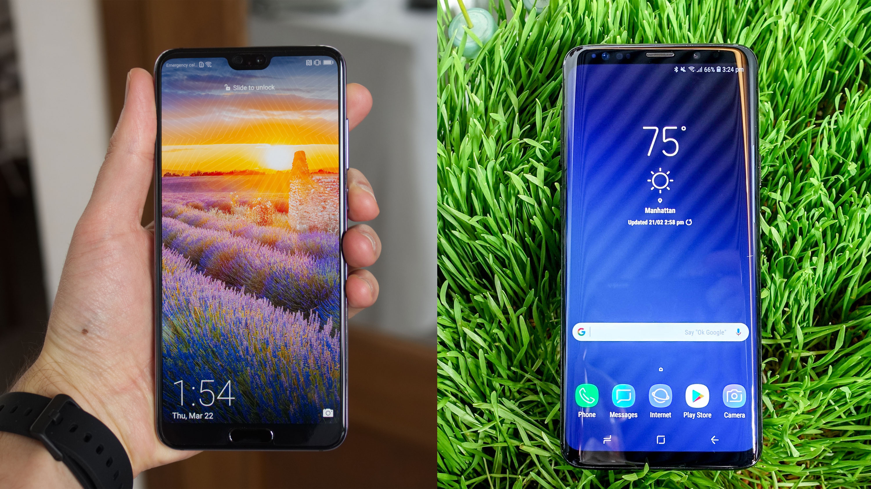 Huawei P20 Pro vs Samsung Galaxy S9 Plus | TechRadar