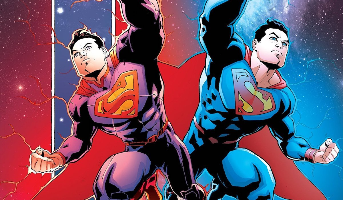 Superman Reborn comic book cover