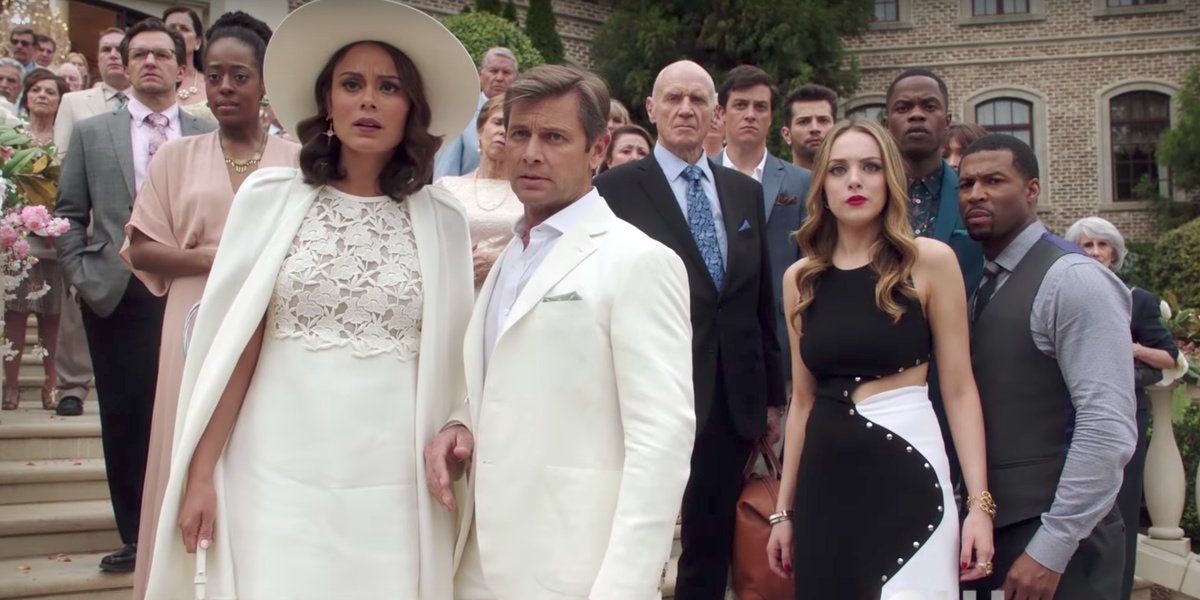 Some of the cast of Dynasty.