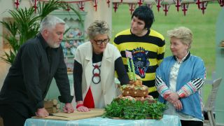Some of the judges on The Great British Baking Show.