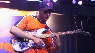 Tom Morello performs live