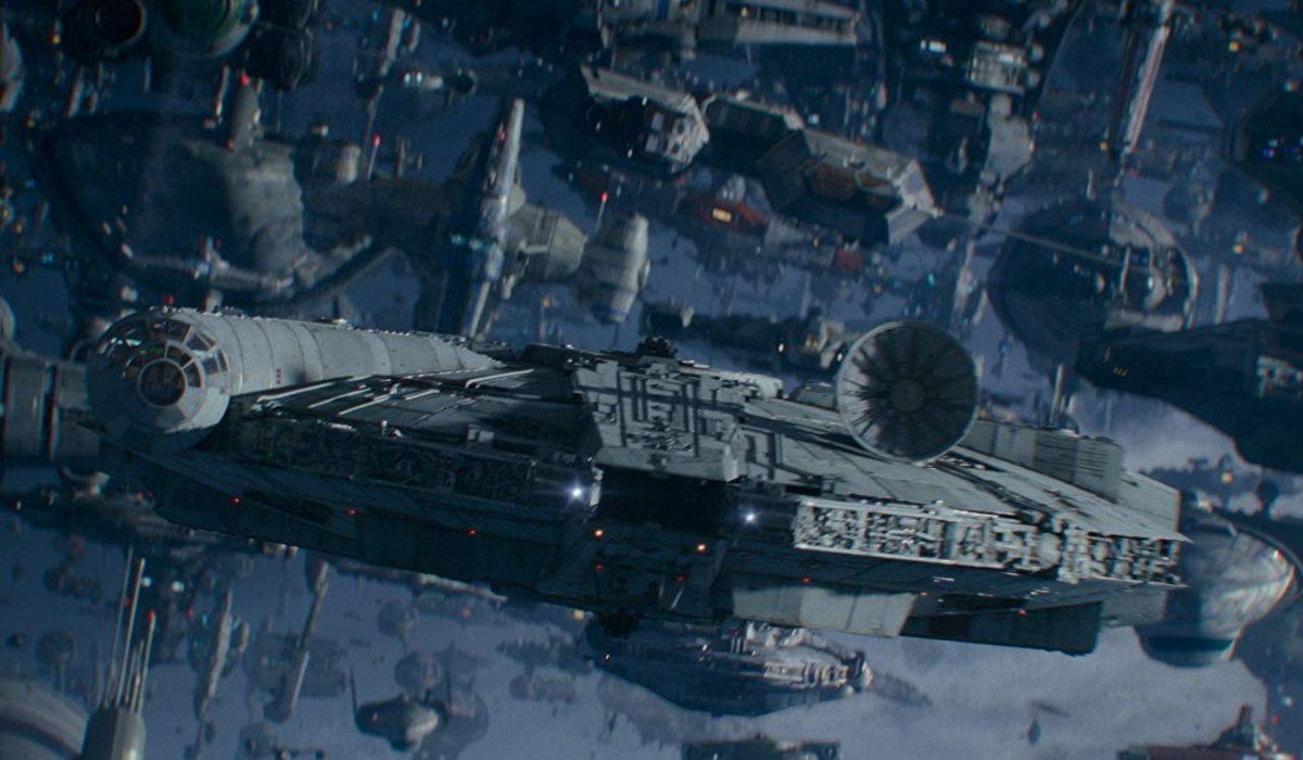 Star Wars: The Rise of Skywalker the Millennium Falcon leads the charge