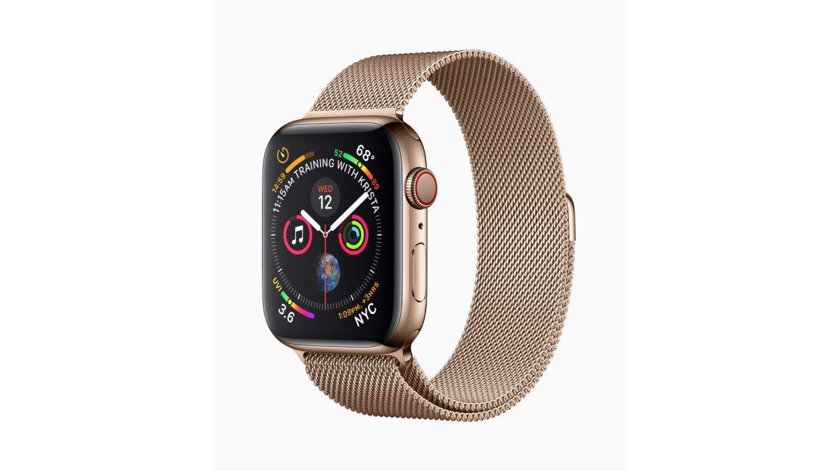 Apple Watch Series 4 Review The Best Smartwatch Takes A Leap Sereis 1 Alumunium Sport 42mm Black Forward T3