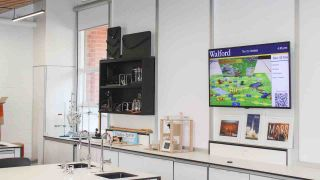 Carousel urges its users to move digital signage from common areas to classrooms and collaboration spaces, where people have the time to digest what's on display.