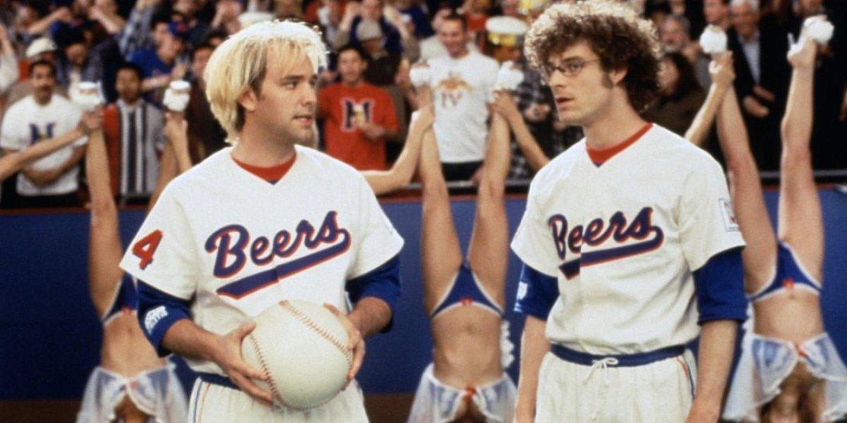 Trey Parker and Matt Stone in BASEketball