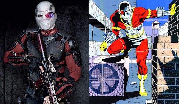 Will Smith's Deadshot and Deadshot comics