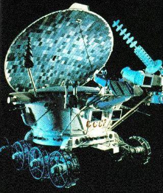Lunokhod 2 Moon Rover