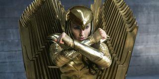 Golden Eagle armor in Wonder Woman 1984