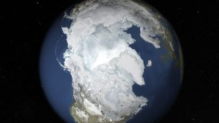 Arctic sea ice typically reaches peak levels during the winter months, but this year is one of it's lowest on record.