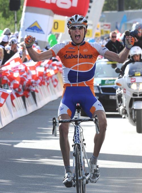 Robert Gesink, Tour de Suisse 2010, stage 6