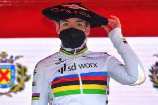 World Champion Anna van der Breggen (SD Worx)
