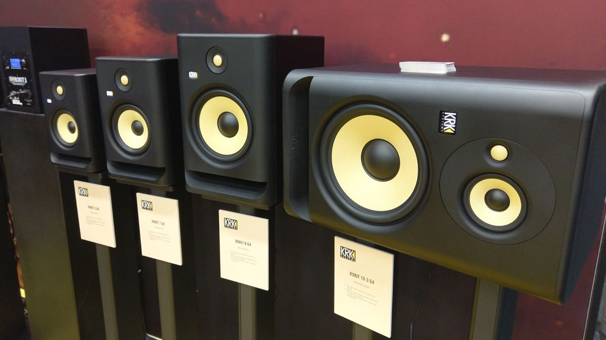 KRK's new Rokit G4 monitors promise more precise and reliable mixes