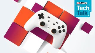 Google Stadia with Tech Talk logo