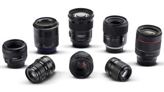Standard prime lens group