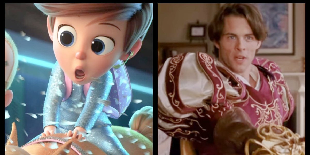 James Marsden plays Tim Templeton in The Boss Baby: Family Business.