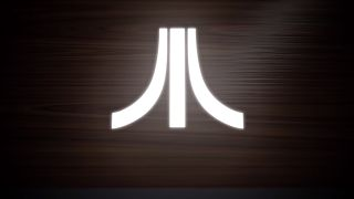 The iconic Atari logo.
