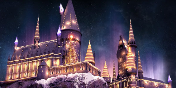 Harry Potter Christmas.The Wizarding World Of Harry Potter Is Doing A Christmas