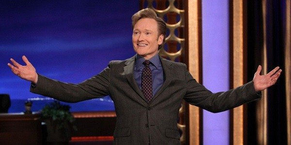 Conan O'Brien, currently the host of his self-titled talk show on TBS