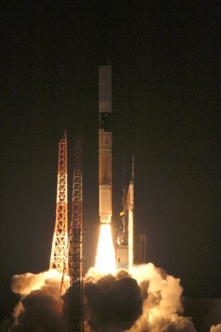 Shizuku Satellite Launch