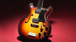 George Harrison Bartell electric guitar