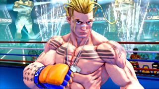 Street Fighter V Luke screenshot