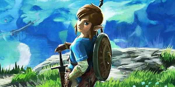 Link Legend of Zelda: Breath of the Wild