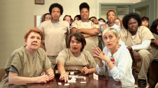 Some of the main cast in _Orange is the New Black._