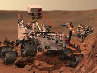 Curiosity Rover Searching