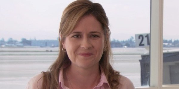 Pam after saying goodbye
