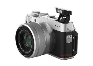 Fujifilm X-A7 pictures and specs leaked