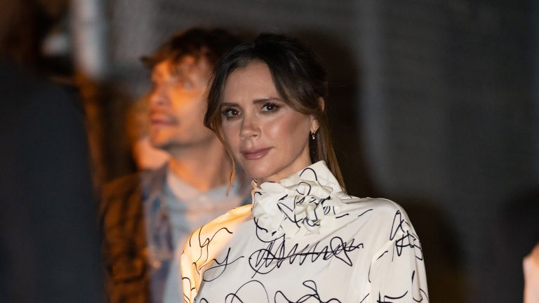 LOS ANGELES, CA - NOVEMBER 19: Victoria Beckham is seen at 'Jimmy Kimmel Live' on November 19, 2019 in Los Angeles, California. (Photo by RB/Bauer-Griffin/GC Images)