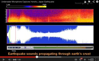 Earthquake sounds